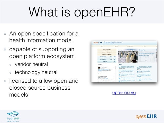1 3 introduction to open_ehr Slide 2