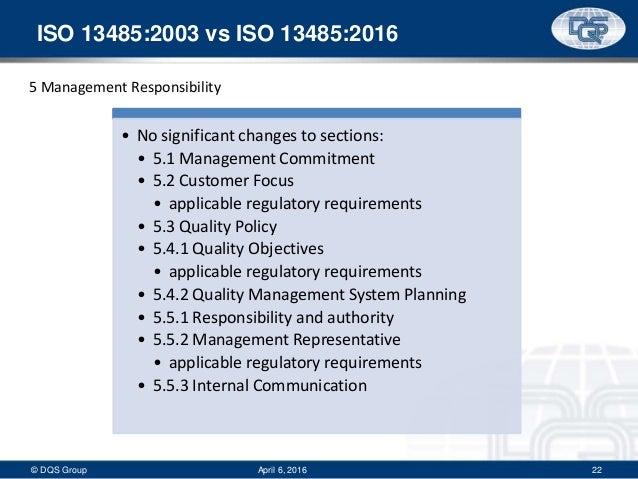Iso 13485 2016 Revisions Webinar