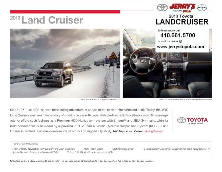 2013             Land Cruiser                                                                                 Land Cruiser...