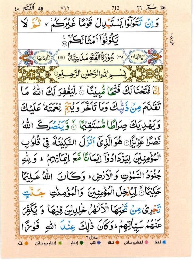 tajweed quran with urdu translation pdf