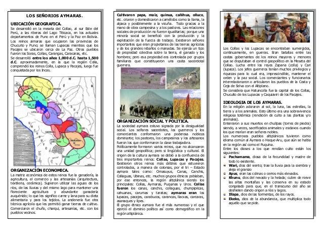 LOS SEÑORIOS AYMARAS. UBICACIÓN GEOGRAFICA. Se desarrolló en la meseta del Collao, al sur Este del Perú, a las riberas del...