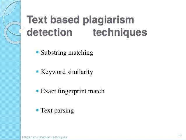 code based plagiarism detection techniques Software plagiarism detection techniques: a comparative study divya luke1,  a pdg based plagiarism detection tool it takes as input an  plaggie [10] is a source code plagiarism.