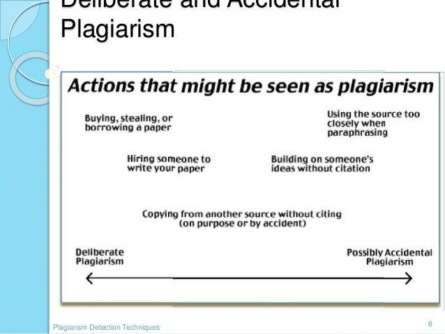 Seminar Report On Plagiarism Detection Techniques — 482683