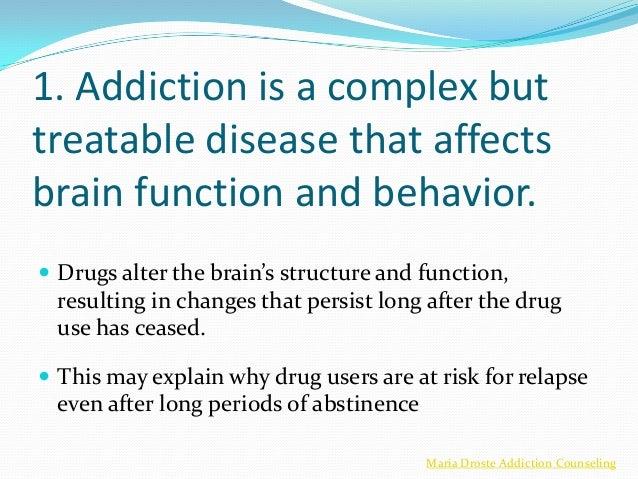 principles of drug addiction treatment doc Purchase principles of addiction - 1st  international perspectives on addiction drug use across time  the biopsychosocial model and addiction treatment.
