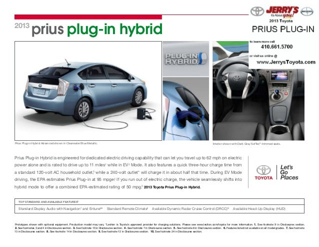 prius plug-in hybrid2013Prius Plug-in Hybrid Advanced shown in Clearwater Blue Metallic. Interior shown with Dark Gray Sof...