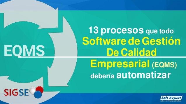 f3b1cae75 13 procesos que todo SoftwaredeGestión De Calidad Empresarial (EQMS)  debería automatizar ...