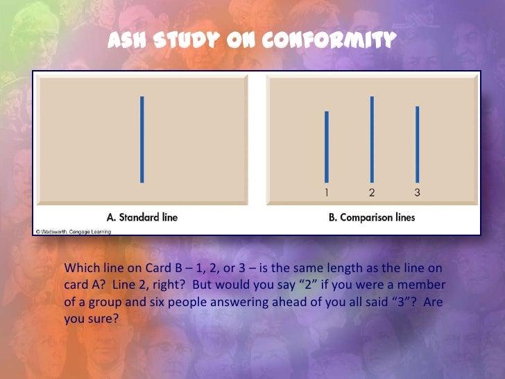 Asch line study videos