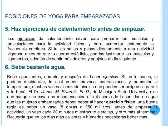 0dec3f787 Viste ropa apropiada  6. POSICIONES DE YOGA PARA EMBARAZADAS ...