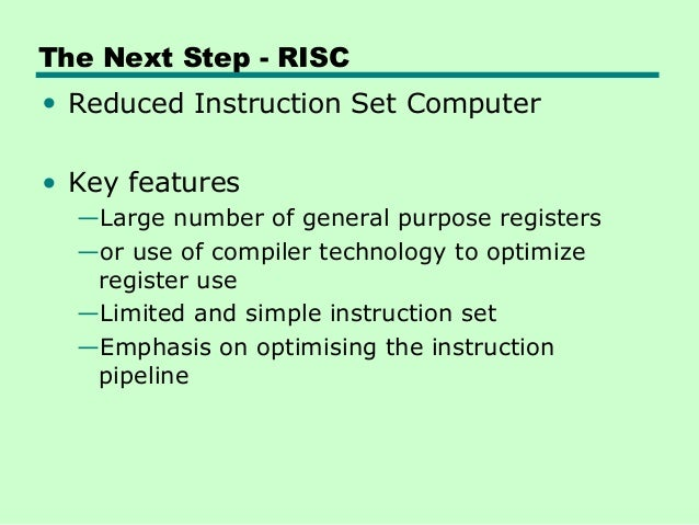 a comparison of the characteristics of the cisc and risc computer technologies This is the over-arching conclusion of a study recently published in the acm transactions on computer risc vs cisc comparison characteristics today's risc.