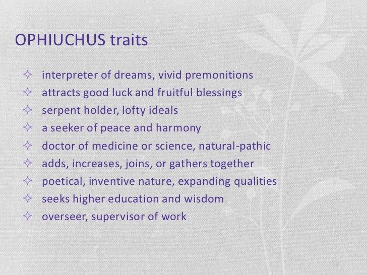 Locating Ophiuchus