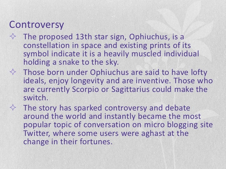 13 Signshas Your Horoscope Changed