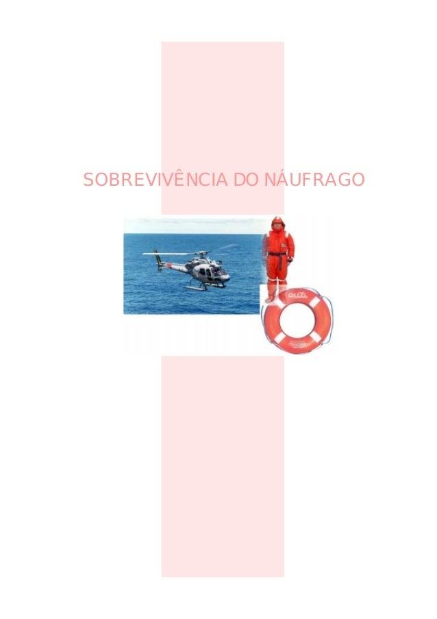 SOBREVIVÊNCIA DO NÁUFRAGO
