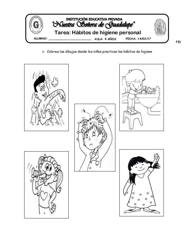 13 Tarea Habitos De Higiene Personal