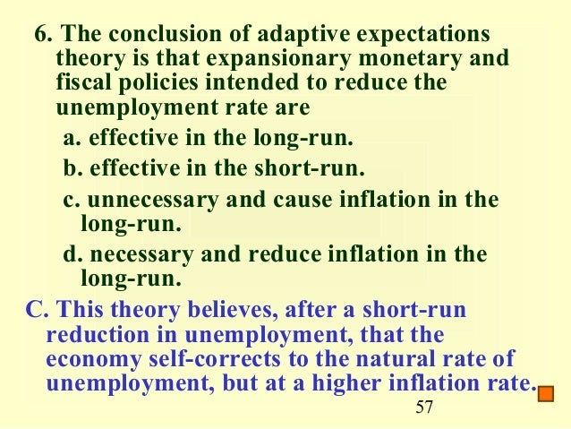 some information about rational expectations theory Rational expectations, the efficient market hypothesis, and the santa fe artificial stock market model  typically as some kind of weighted average of past observations  (ie, investors have strong-form rational expectations) (2) security prices in financial markets are determined at.