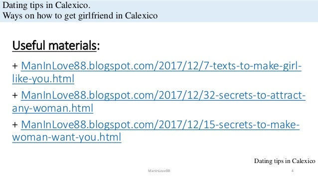 Calexico dating