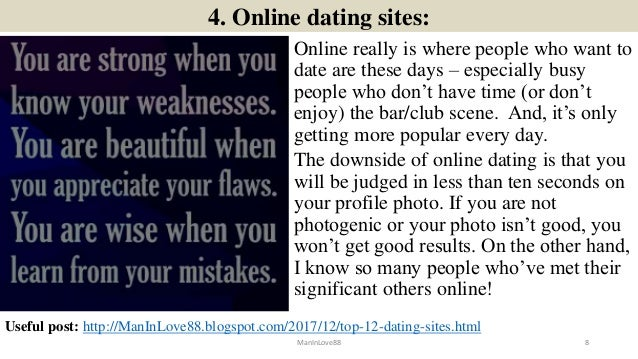 Dating Website Search
