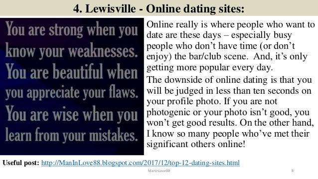 lewisville dating mest populære homofile dating apps etter land
