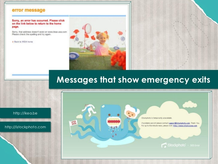 Messages that show emergency exits    http://ikea.behttp://istockphoto.com