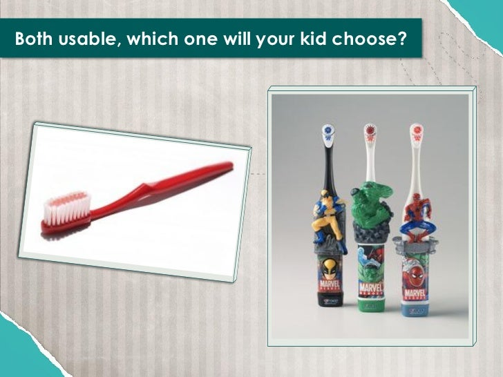 Both usable, which one will your kid choose?