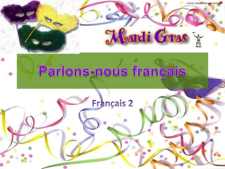 Parlons-nous français<br />Français 2<br />