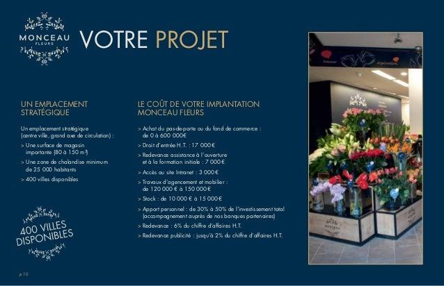 Groupe monceau fleurs documentation 3 franchises du groupe - Monceau fleurs porte maillot ...