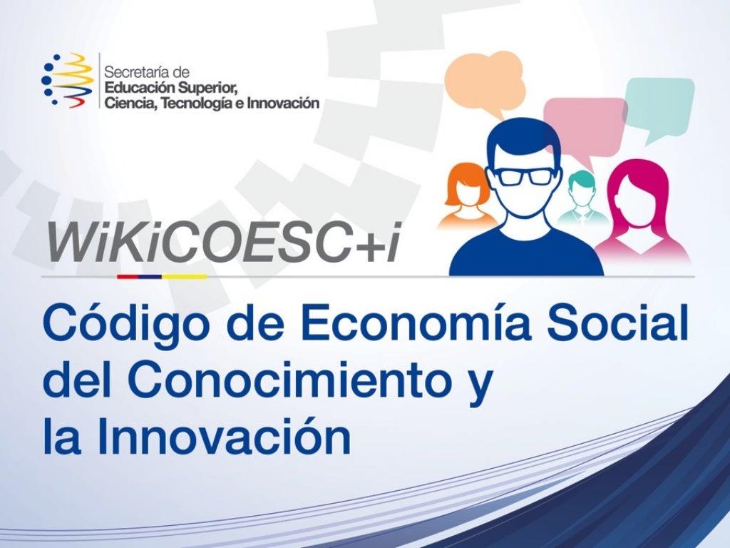 Presentación de WiKiCOESC+i