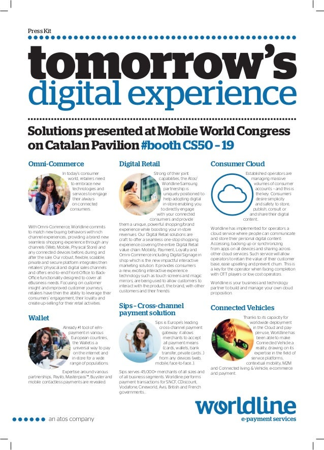 Press Kit Omni-Commerce In today's consumer world, retailers need to embrace new technologies and services to engage their...