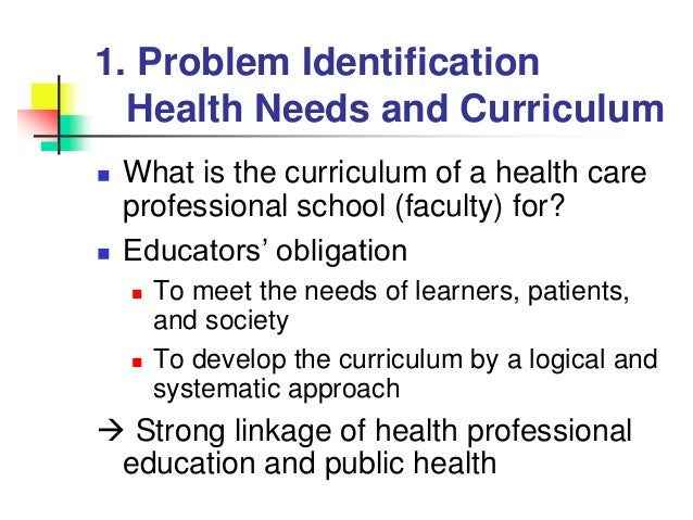needs assessment integrated curriculum Needs assessment is an important stage of both curriculum development and school curriculum development thus needs assessment inform important information and decisions for school curriculum to develop awareness and sense of responsibility for protecting water resources.