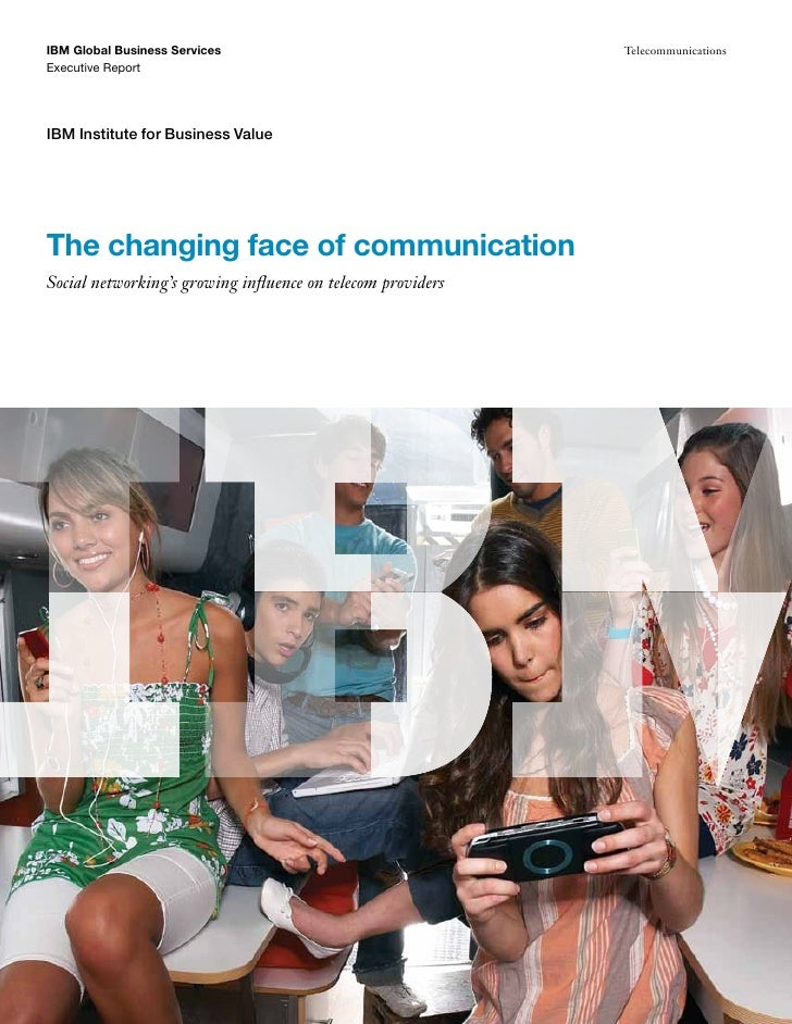 IBM Global Business Services                                 TelecommunicationsExecutive ReportIBM Institute for Business ...