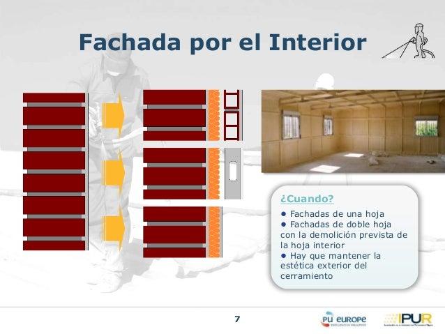 Aislamiento termico fachadas interior simple aislar for Aislamiento termico en fachadas por el interior