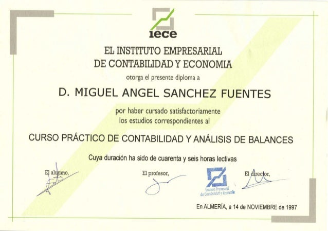 Contabilidad y an lisis de balances for Analisis de balances