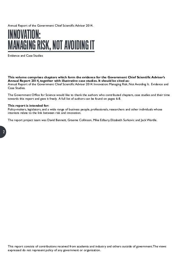 case studies on innovation management