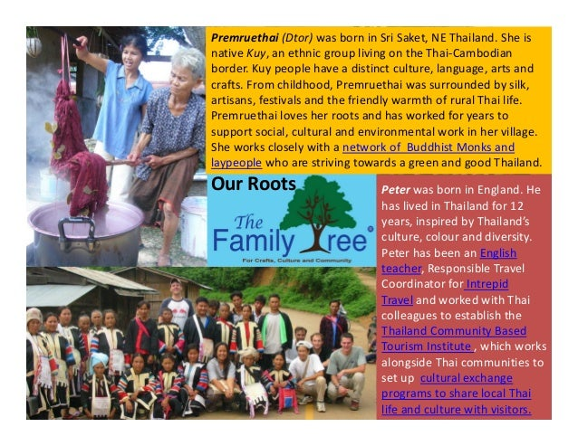 The Family Tree - Inspiring Stories from Destinations  Slide 2