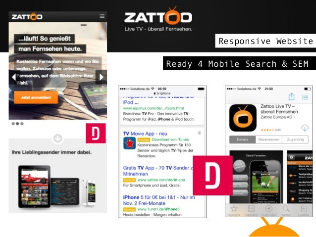 Responsive Website Ready 4 Mobile Search & SEM