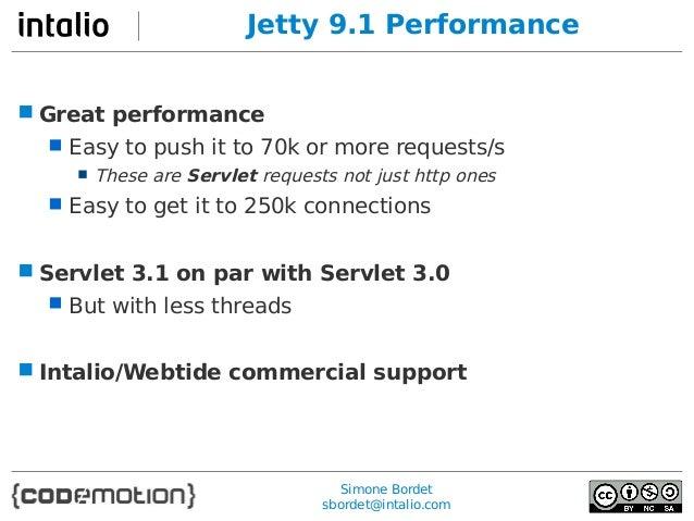 Jetty 9 – The Next Generation Servlet Container