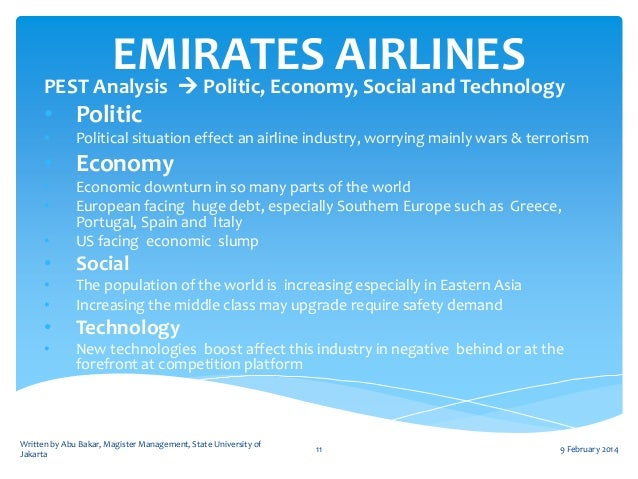general environment analysis of singapore airlines Competitive environment of the airline industry competitive threats amongst the airlines would be this analysis will reveal if the current strategy.