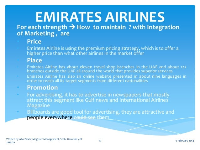 marketing strategy for air arabia airline It is clear that air arabia's recent marketing approach not only  positive effect on  one of the budget airline's core branding principles and drove.