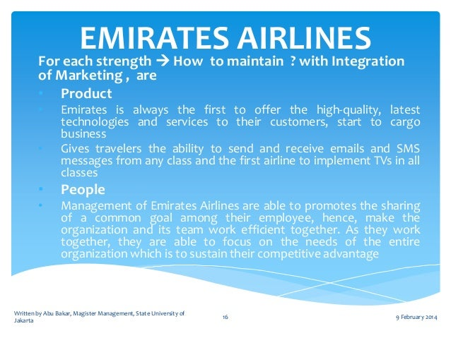 emirates airlines case study