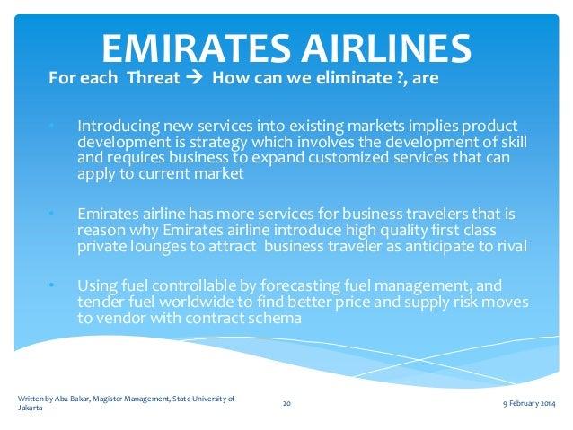 strategic management emirates airline emily hooker