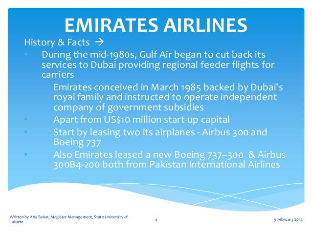 a strategic study of emirates airlines Swot: emirates airlines key strategic objectives and challenges emirates airlines' position on subsidies competitive positioning outperforming the industry.