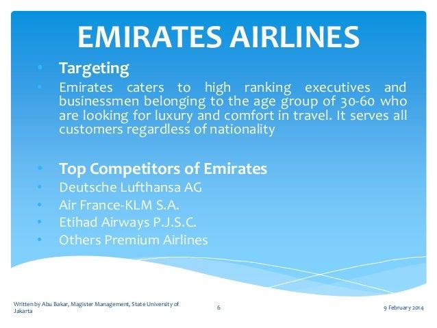 PESTLE-PESTEL Analysis of Emirates Airlines
