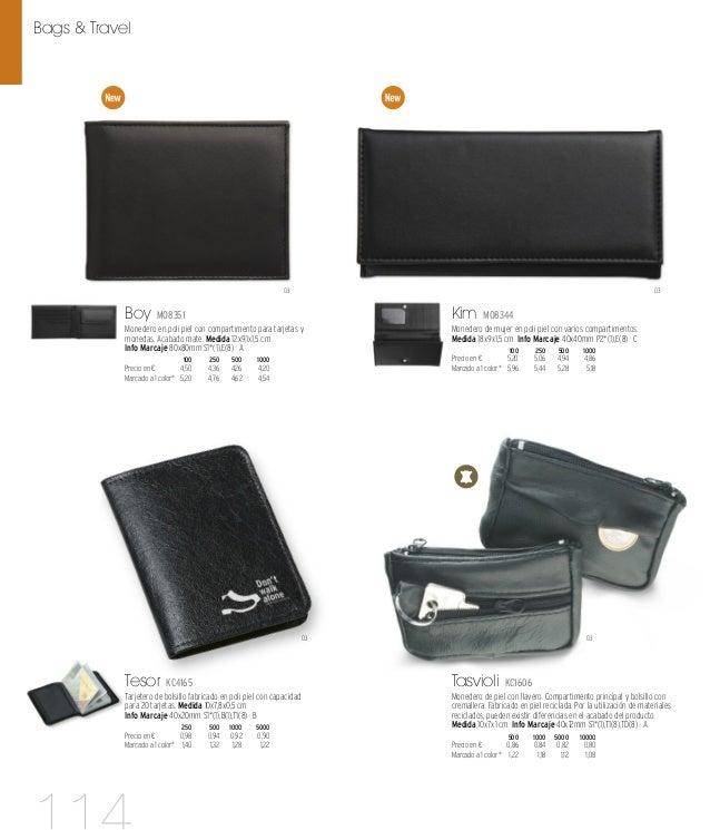 03 Cas MO8345 Portadocumentos de viaje de microfibra con cremallera. Varios compartimentos para tarjetas, pasaportes y un ...