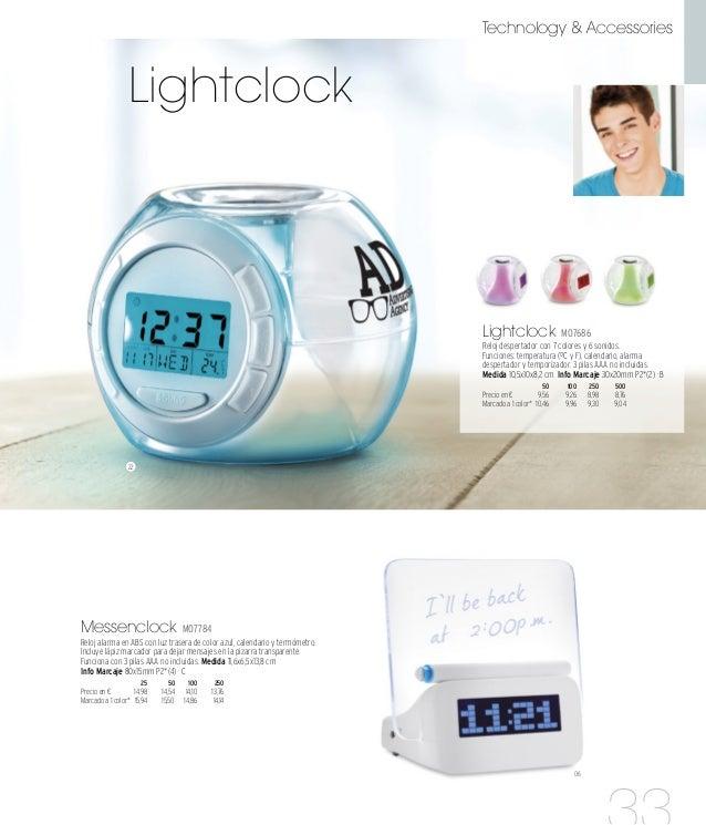 22 14 14 14 Multi IT2301 Posalápices con reloj, alarma, fecha y termómetro. 1 pila de botón incluida. Medida 9,5x11,6 cm I...