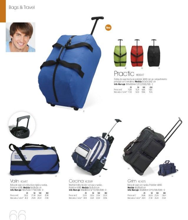 03 07 07 Hubei KC6768 Set de viaje 3 en 1 con bolsa trolley, porta documentos y neceser. Poliéster 600D. Medida 52x26x27 c...
