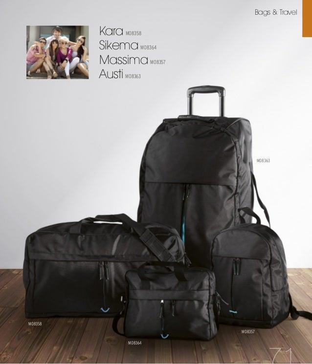 Bapal KC2364 37 Amplia superficie para marcar tu logo Poliéster 600D Correa resistente Cremallera a juego Bags & Travel