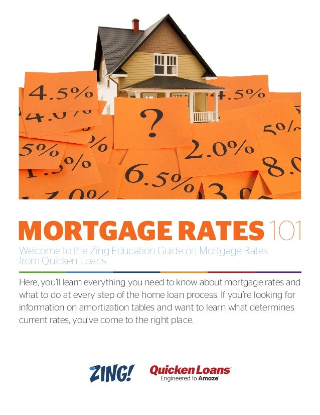 Welcome to the Zing Education Guide on Mortgage Rates from Quicken Loans. Here, you'll learn everything you need to know a...