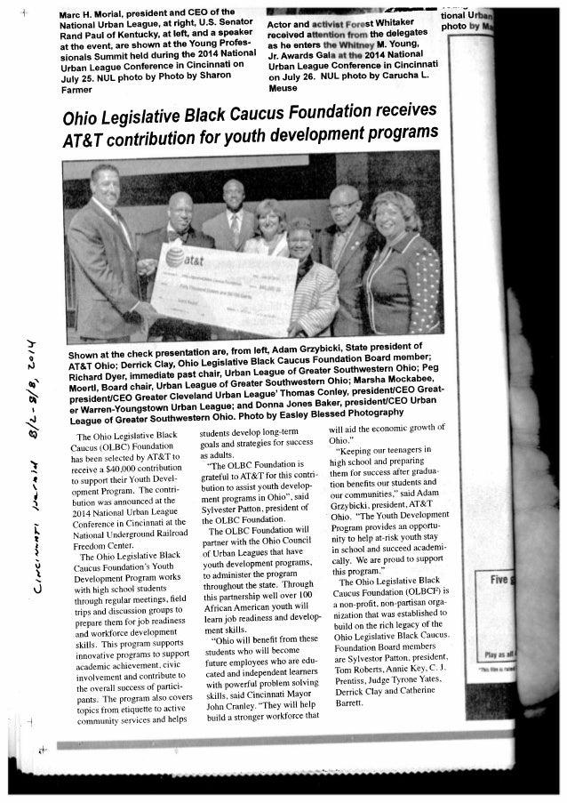 14.8.2 cincinnati herald   olbc foundation contribution