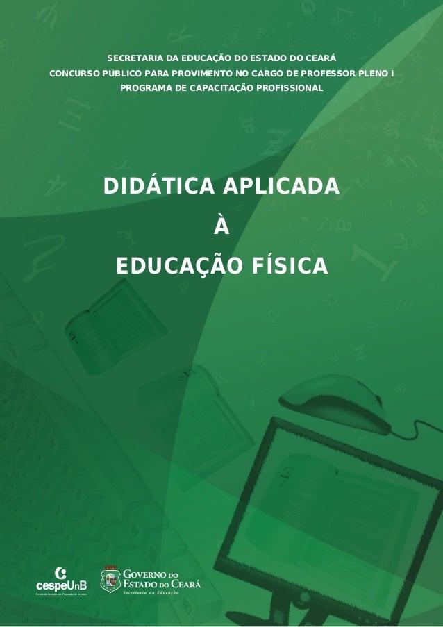 CONCURSO PÚBLICO PARA PROVIMENTO NO CARGO DE PROFESSOR PLENO I  cespeUnB  Centro de Seleção e de Promoção de Eventos  SECR...