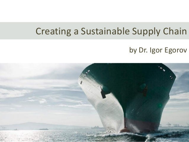 19 Steps to Creating a Lean and Green Supply Chain