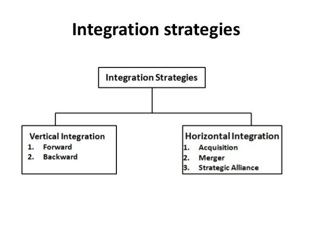 Integration strategies